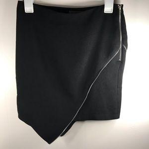 LF 🖤 Mika & Gala Black Zipper Short Skirt